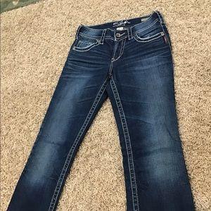 Women's silver jeans W26/L33 Slim bootcut